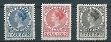 1926TG Nederland Veth K.Wilhelmina NR.163-165A. postfris mooie zegels..