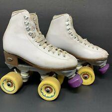 Vintage Sure-Grip International Fame Roller Skates Size 3 Women's White