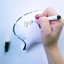 Wipe Clean Inflatable Speech Bubble Fridge Memo Magnet with Pen