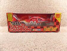 New 1997 Racing Champions 1:24 NASCAR Bill Elliott McDonald's Ford Thunderbird