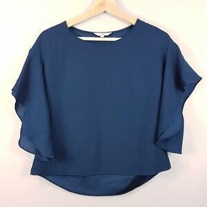[ VERONIKA MAINE ] V.M Womens Crepe Blouse Top | Size AU 6