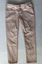 Quicksilver Juniors Size 7 / 28 Blush Pink Polka Dot Jeans QSD #E65