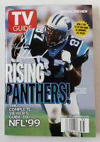 August 28-September 3, 1999 TV Guide ~ CAROLINA PANTHERS regional variant cover