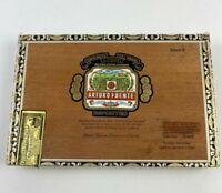 Arturo Fuente Cigar Box Empty Hand Made in Dominican Republic Queen B Vintage