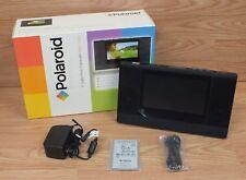 "Polaroid (XSA-00660S) Simplicity 6"" Digital Photo Frame with Alarm Clock *READ*"