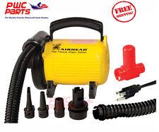 AIRHEAD Hi-Pressure 120V 2.5PSI Air Pump ALL Tubes Towables Multi-Tip AHP-120HP