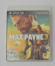 Max Payne 3 (Sony PlayStation 3, 2012) PS3 COMPLETE IN BOX
