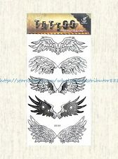 US SELLER, sticker tattoos angel wings temporary tattoo sticker