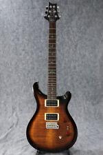 New Paul Reed Smith PRS 35th Anniversary SE Custom 24 Black Gold Burst Guitar