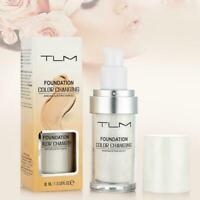 TLM Color Changing Foundation Makeup Base Face Liquid Concealer BEST Cover M4Q8