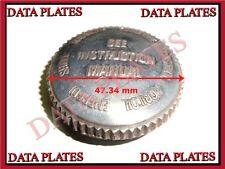 BSA Oil Tank Chaincase Filler Cap - Lubricant Scripted Type Part No.65-8560-8500