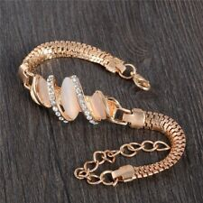 Women Gold Filled Opal Bracelet with Austrian Crystal in women Jewelry