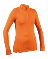 Shires Aubrion Women's Maywood Long Sleeve Base Layer Shirt Rear Pleat