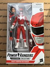 Hasbro Power Rangers Lightning Collection Mighty Morphin' Red Ranger New