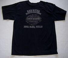 Vintage Red River Harley Davidson Iowa Park Texas T Shirt XL