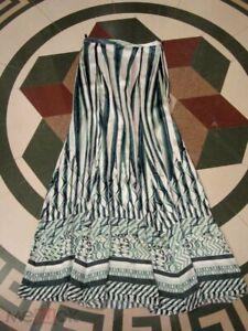 Authentic Roberto Cavalli 2 skirts Maxi Silk Collectible Mainline MINT 38IT XS
