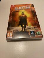 😍 jeu nintendo switch pal fr neuf blister blacksad edition limitée collector