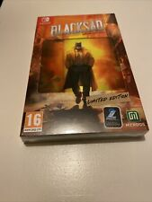 Game Nintendo Switch Pal Fr New Blister Blacksad Edition Limited Collector