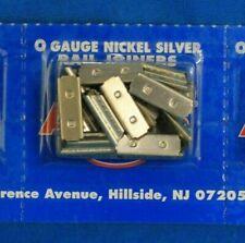 O Scale ATLAS 6091 Nickel Silver Rail Joiners