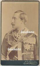 Kabinettfoto Kaiser Wilhelm II. als Schiesspreis  1895    (p217)