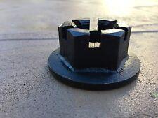 Rhino Rotary Cutter Gearbox Flanged Castle Nut 00771226 (11-029), M30 x 2 thread