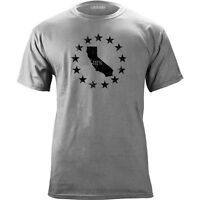 Vintage Distressed California 3 Percenter III State T-Shirt