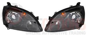 NEW GENUINE Mitsubishi DB 380 VRX LH & RH Headlamp Set - Complete Assemblies