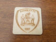 Barnsley fc , laser engraved coaster, gift idea