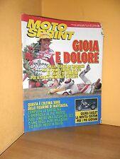 MotoSprint - n° 26 - 30 Giugno/6 Luglio 1993 - Capirossi e Romboni - Rivista