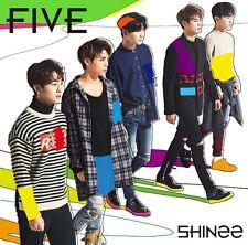 SHINee Japan 5th Album [FIVE] (CD + Photobook) Regular Edition