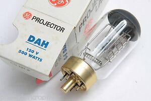 DAH 120 Volt 500 Watt Bulb 120V 500W Lamp GE General Electric - NEW L10