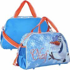 Disney Frozen Olaf Sporttasche Freizeit Tasche 43 cm x22 cm x 19 cm Schule NEU