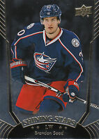 16/17 UPPER DECK SHINING STARS #SS-34 BRANDON SAAD BLUE JACKETS *26701