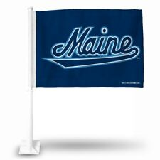 University Maine Black Bears NCAA Licensed 11X14 Window Mount 2-Sided Car Flag
