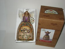 Jim Shore A PRAYER OF THANKFULNESS Christmas Holiday Angel w/ Box Tags