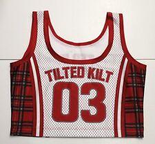 TILTED KILT GIRLS BASKETBALL 03 JERSEY UNIFORM TOP/SHIRT MEDIUM M