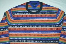 Tommy Hilfiger Nordic Style Winter Ski Lux Cotton Multi-Color Stripe XXL Sweater