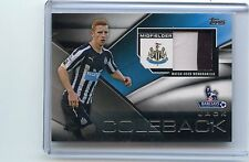 2014 TOPPS PREMIER LEAGUE #FFR-JCK JACK COLEBACK JERSEY NEWCASTLE UNITED, 120415