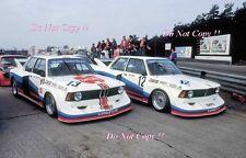 Manfred Winkelhock & Marc más segura BMW 320 5 Zolder DRM 1977 fotografía de grupo 1
