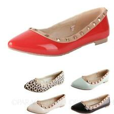 Flat (0 to 1/2 in.) Synthetic Formal Solid Shoes for Women