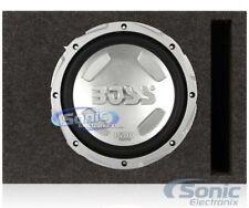 "Boss Chaos 12"" 1400W Car Audio Subwoofer + Single 12"" Vented Sub Enclosure Box"