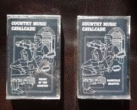 COUNTRY MUSIC CAVALCADE  ( lot of 2)