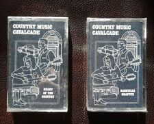 COUNTRY MUSIC CAVALCADE Nashville Graffiti & Heart of the Country NEW (2) lot