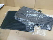 WeatherTech All-Weather Rubber Floor Mats Honda Pilot 09-15 2nd 3rd Row Black