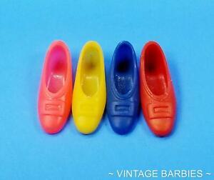 Barbie / Francie Doll Single Buckle Shoes HTF Excellent ~ Vintage 1960's