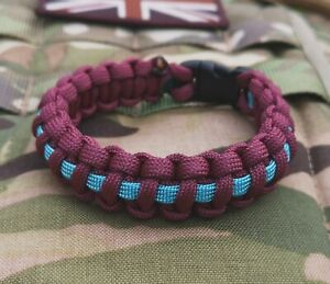 16 Medical Regiment 16 Air Assault Brigade Paracord 550 Bracelet