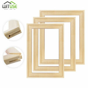Canvas Picture Frame Stretcher Bar Photo Frames Strip Kit For Art Oil Painting