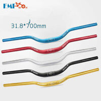 New MTB Mountain Bike Bicycle Riser Bar Handlebar Aluminum Handlebars 31.8*700mm