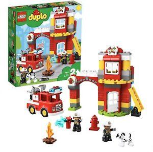 LEGO DUPLO CASERMA DEI POMPIERI CON LUCI SIRENA E FURGONE 10903