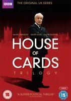Nuovo Casa Di Carte (Originale) Serie 1 A 3 Collezione Completa DVD
